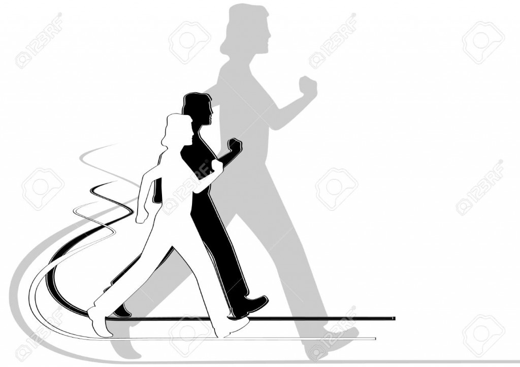 11656506-An-abstract-image-of-a-person-engaged-in-race-walking-The-illustration-on-a-white-background--Stock-Vector