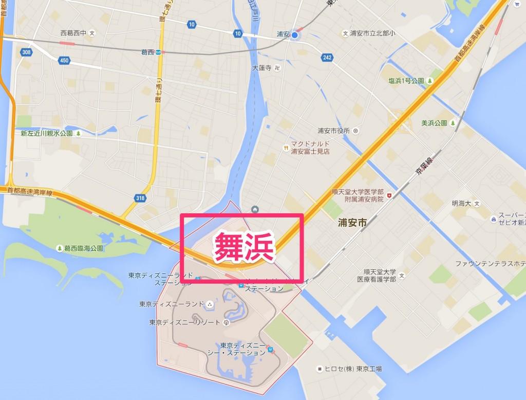 〒279-0031_千葉県浦安市舞浜_-_Google_マップ
