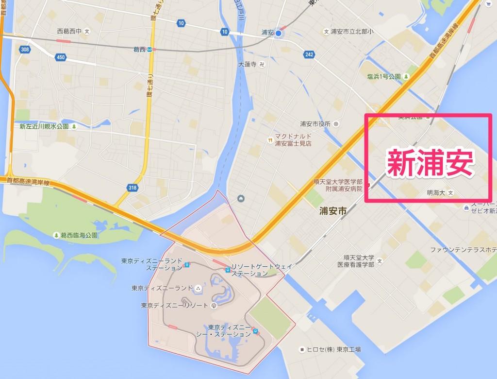 〒279-0031_千葉県浦安市舞浜_-_Google_マップ 5